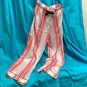 NWT Neon Pink Poly Victoria Secret PJ Pants